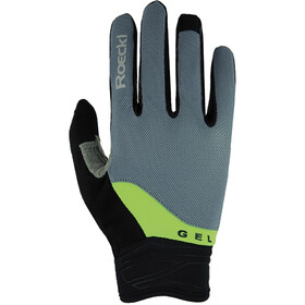 Roeckl Mori Gloves, grey/green